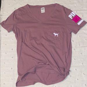 VS PINK Cotton T-Shirt